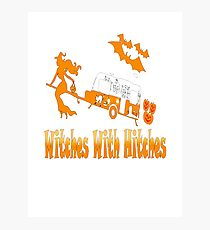 witches with hitches Photographic Print
