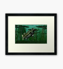 Largemouth Bass Framed Print
