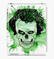 Watercolour Joker skull  iPad Case/Skin