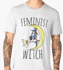 Feminist witch Men's Premium T-Shirt