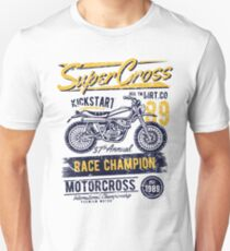 Motorcross Retro Vintage T-Shirt