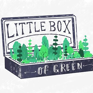 Lil Box of Green by filgouvea