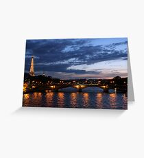 Reflets  Greeting Card