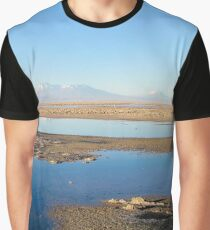 Water on the desert Graphic T-Shirt