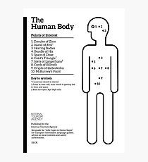 Internal Tourism Agency: The Human Body - Points of Interest Photographic Print