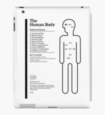Internal Tourism Agency: The Human Body - Points of Interest iPad Case/Skin
