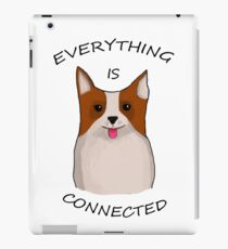 Everything is connected, dirk gently's holistic detective agency iPad Case/Skin