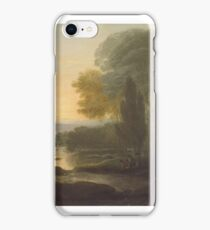A View on the Susquehanna River by Benjamin West iPhone Case/Skin