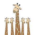 GIRAFFE PORTRAITS by Jean Gregory  Evans