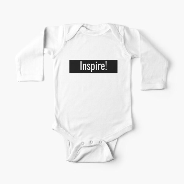 Inspire Long Sleeve Baby One-Piece
