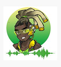 Overwatch - Lucio coming at you! Photographic Print