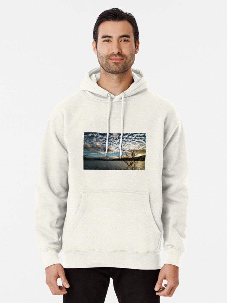 Alternate view of Lake sunset Pullover Hoodie