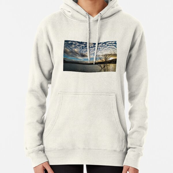 Lake sunset Pullover Hoodie