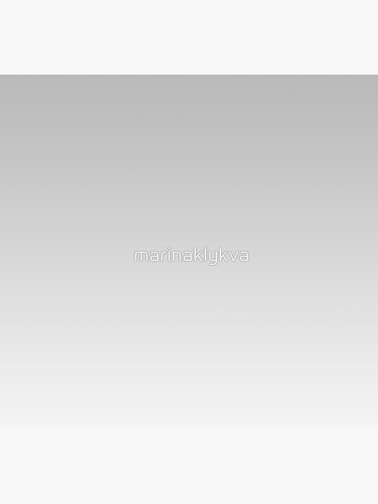Gray, white Ombre. by marinaklykva