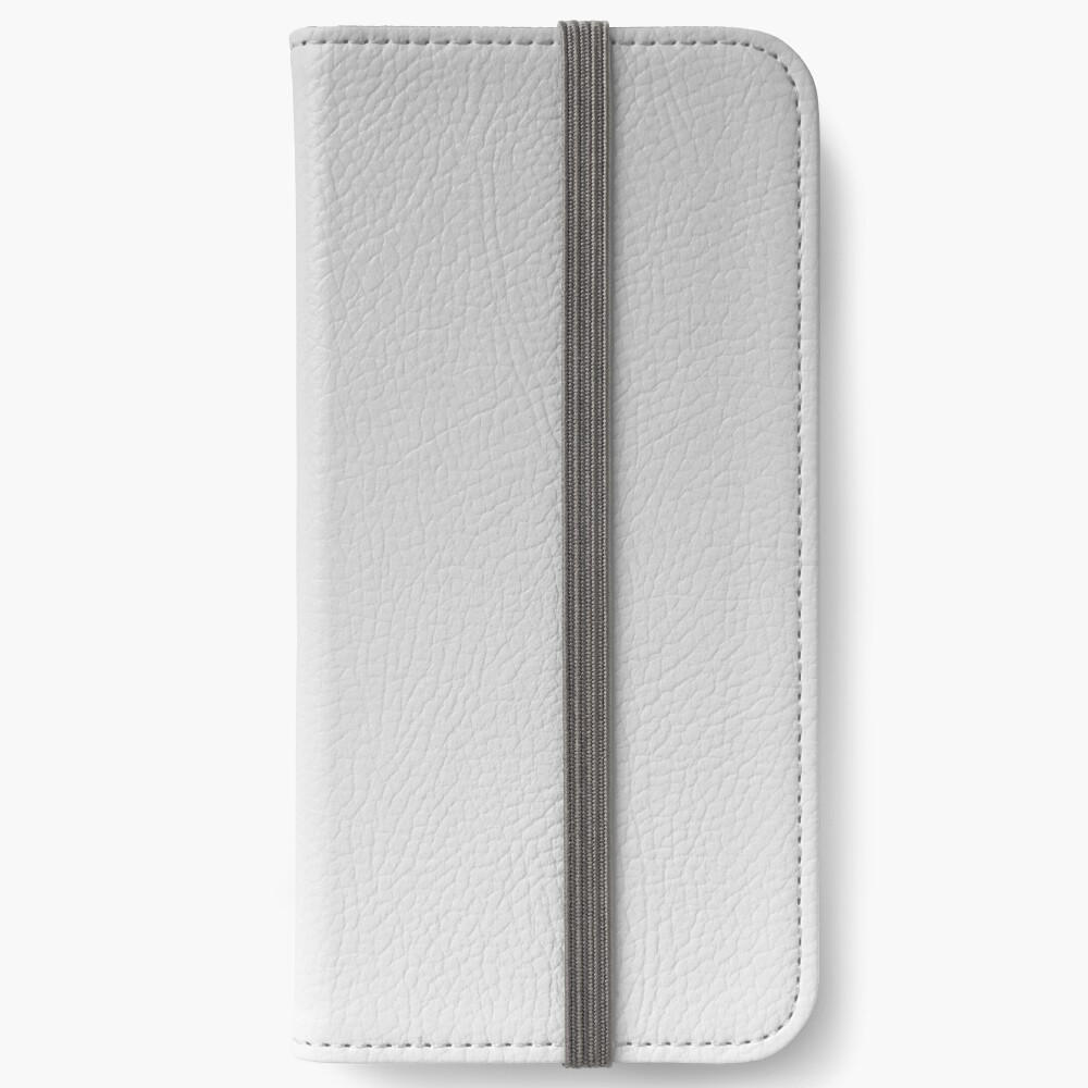 Gray, white Ombre. iPhone Wallet