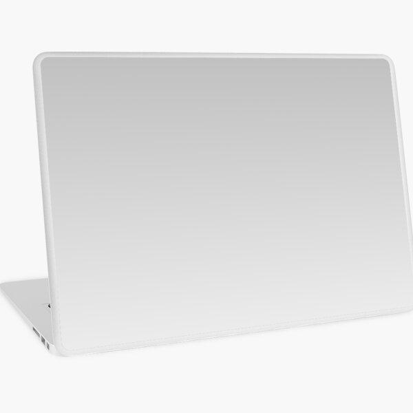 Gray, white Ombre. Laptop Skin