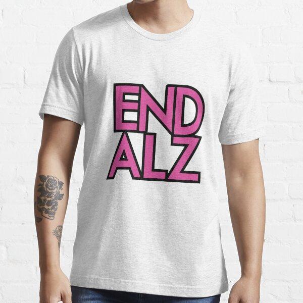 End Alz Alzheimer's Awareness Month Purple Gifts  Essential T-Shirt