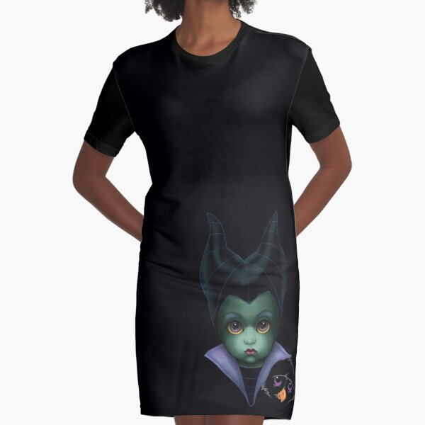 MALEFICENT (Bitty Baddies) Graphic T-Shirt Dress