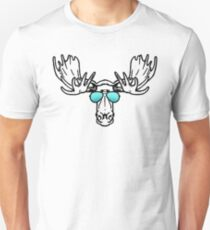 Too cool for school Moose  T-Shirt