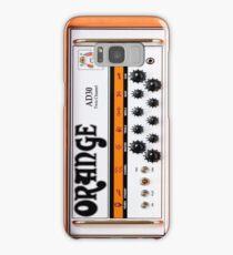Orange Guitar Amp Samsung Galaxy Case/Skin