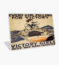 Vintage poster - Victory Girls Laptop Skin