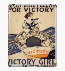 Vintage poster - Victory Girls iPad Case/Skin