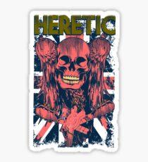Morbid angel heretic gotico Sticker
