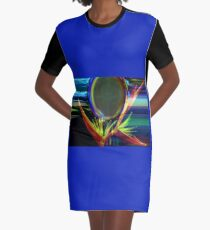 Peace Power Graphic T-Shirt Dress