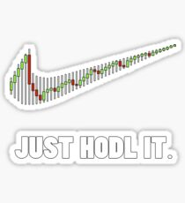 Just Hodl It - Bitcoin Crypto Currency Sticker
