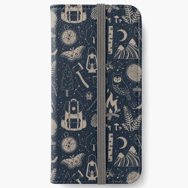 Into the Woods iPhone Wallet