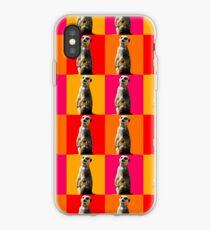 9afef16b7b8 Vinilo o funda para iPhone Meerkat Linda Meerkat Pop Art. suricata del arte  pop -