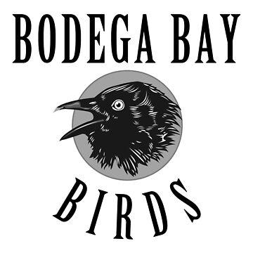 Bodega Bay Birds by livtees