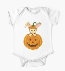 Bunny with Pumpkin Kids Clothes