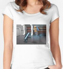 Vader Redeems Himself Women's Fitted Scoop T-Shirt