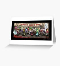 Class of 666 Greeting Card