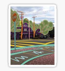Intersection ~ By Ernie Kasper Sticker
