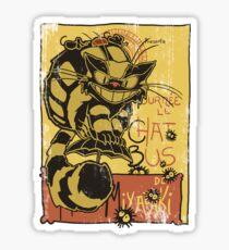 Nekobus, le Chat Noir cartel Pegatina