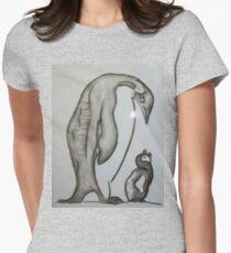 Penguin family Women's Fitted T-Shirt