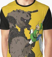 Link y el Coloso Camiseta gráfica