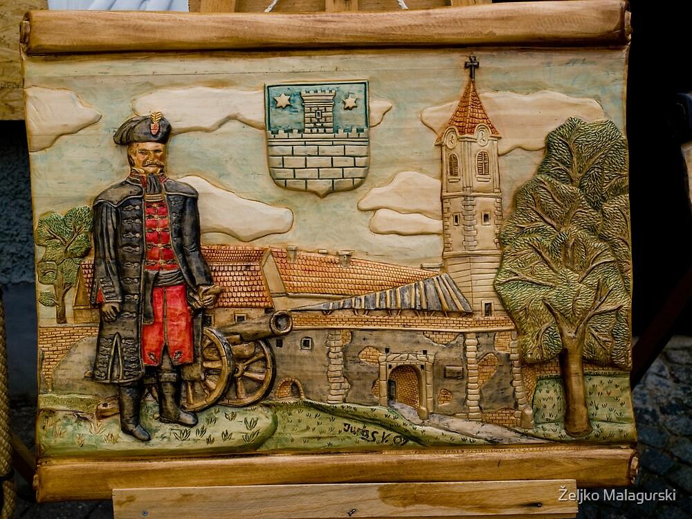 art on wood by Željko Malagurski