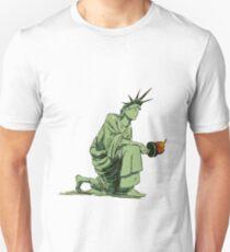 Statue of Liberty Kneeling T-Shirt