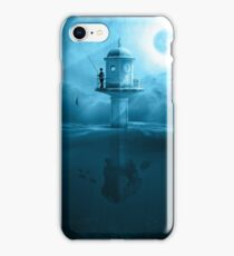 LIGHTHOUSE FISHING iPhone Case/Skin
