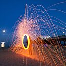 Bournemout Beach Steel Wool by Mark Pelleymounter