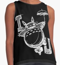 I Love Totoro and I love you too Blusa sin mangas