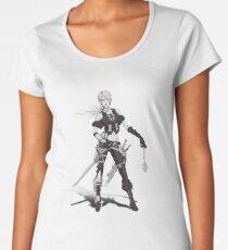 Myrcella Camiseta premium de cuello ancho