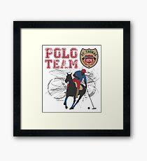 Polo Team St. Thomas Framed Print