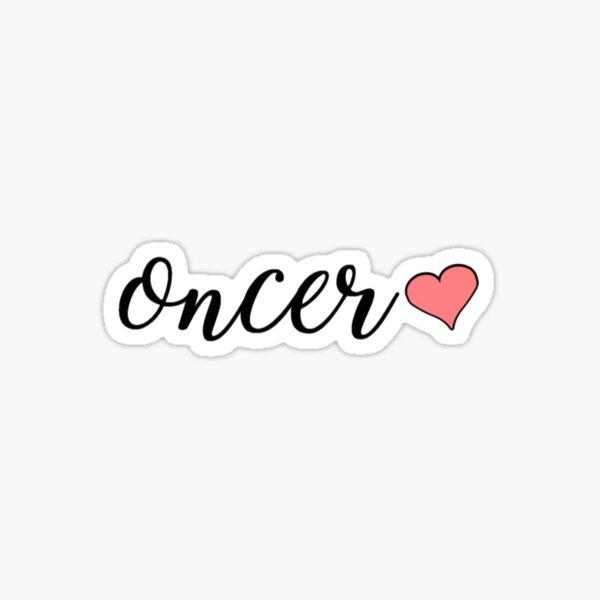 oncer <3 Sticker