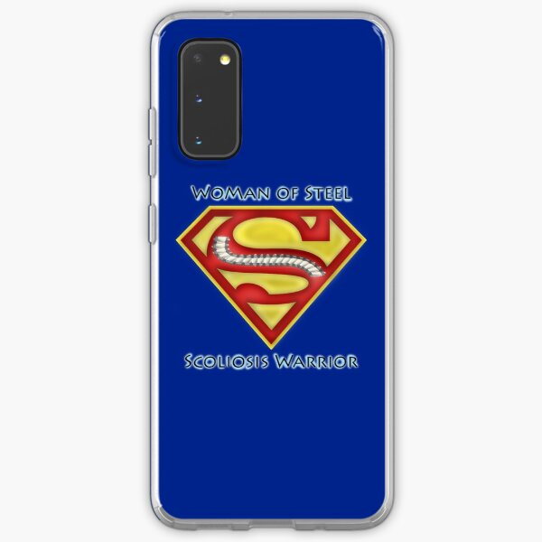 Woman of Steel - Scoliosis Awareness Samsung Galaxy Soft Case