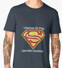 Woman of Steel - Scoliosis Awareness Men's Premium T-Shirt