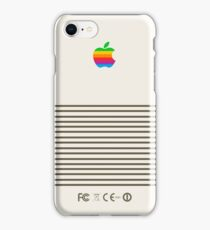 Platinum Retro Apple iPhone Case/Skin
